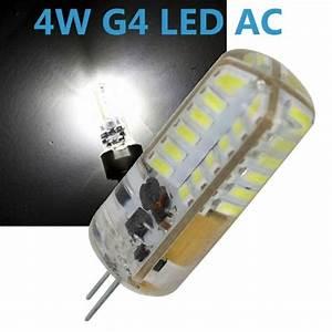 G4 Led Leuchtmittel : led g4 4w 12v ac dc leuchtmittel kaltwei spot strahler halogen led ~ Orissabook.com Haus und Dekorationen