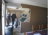 removing a wall How to Remove Stud Walls to Create an Open Floor Plan ...