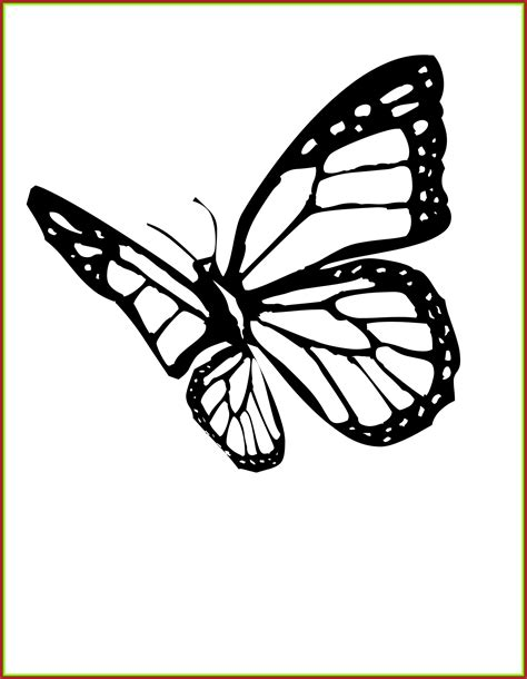 Download and print these butterfly kids coloring pages for free. Monarch butterfly Coloring Pages to Print   Free Coloring ...