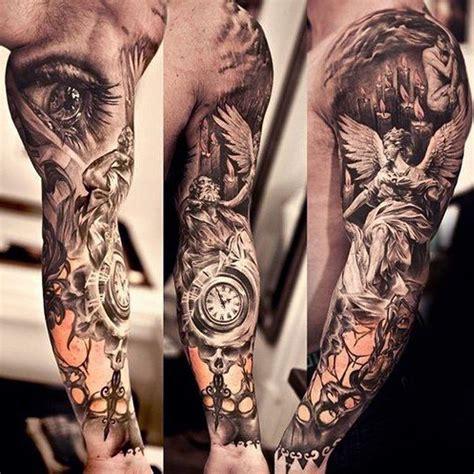 religious tattoo sleeve   tattoo ideas religious