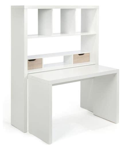 etagere a poser sur bureau twisty bureau modulable avec 233 tag 232 res et tiroirs contemporain meuble bureau et secr 233 taire