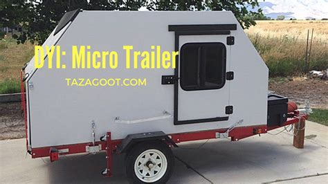 ultra lite tiny camping trailer camping pod youtube