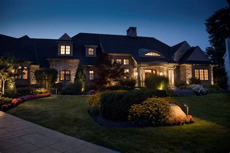 exterior outdoor landscape lights total lawn care inc