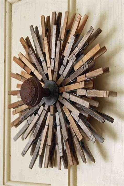 cool clothespin crafts   tip junkie
