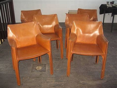 set 6 cassina cab chairs colonial australiana and