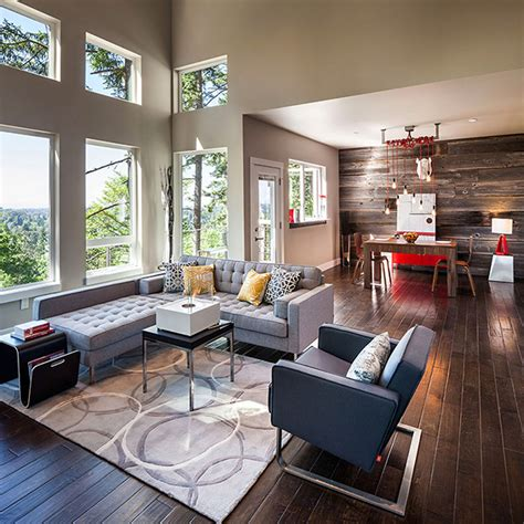 modern rustic living room ideas modern meets rustic revealing a special eclectic d 233 cor freshome com
