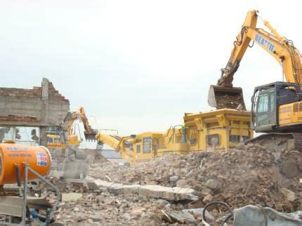 recycling  demolition  construction materials