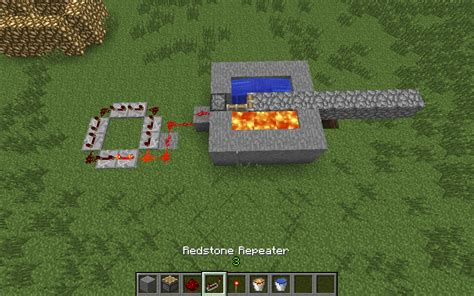 How Make Simple Automatic Minecraft Cobblestone