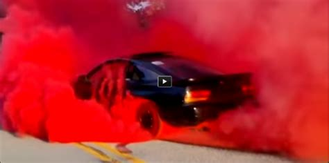 sx red burnout khumo ecsta colored smoke tires