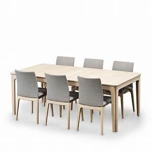 Table Salle A Manger Avec Rallonge : table de salle manger scandinave en bois avec allonges sm26 27 4 ~ Teatrodelosmanantiales.com Idées de Décoration
