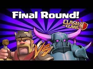 Clash Of Clans Barbarian King Vs Pekka - MAX KING vs MAX ...