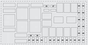 Fiat Punto Evo  2010  U2013 2012   U2013 Fuse Box Diagram