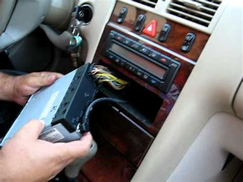 remove radio cassette   mercedes