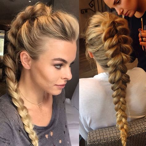 Braided Ponytail Hairstyles For by Pull Through Ponytail Braid Braids Hair