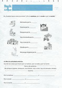 spanish worksheets  kids images spanish
