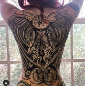 Frauen Rücken Tattoo : big tattoo frau r cken tattoo pinterest tattoo frauen r cken und frau ~ Frokenaadalensverden.com Haus und Dekorationen