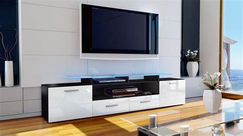 Sideboard Tv by Tv Unit Stand Cabinet Sideboard Almada V2 Black High