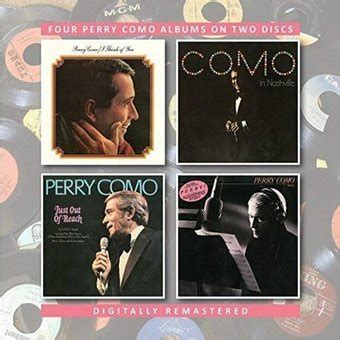 perry como just out of reach cd think of you perry como in nashville just out of reach