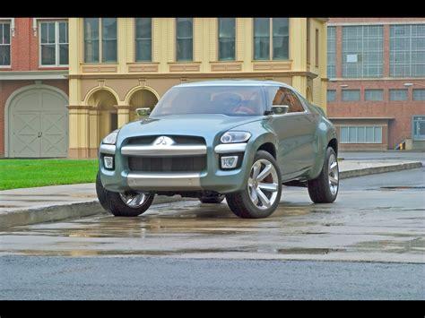 2004 Mitsubishi Sport Truck Concept Front Angle