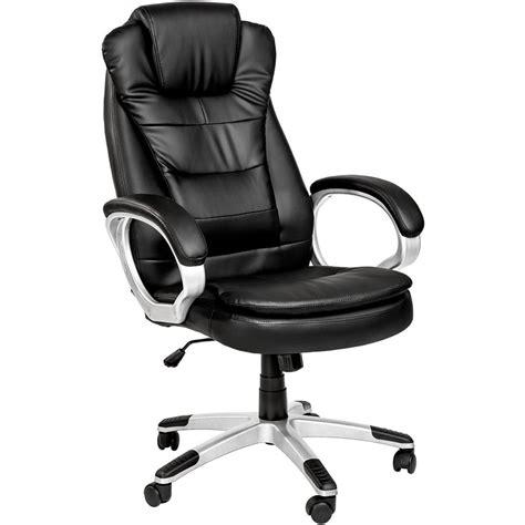 test de la chaise de bureau confort tectake en simili cuir