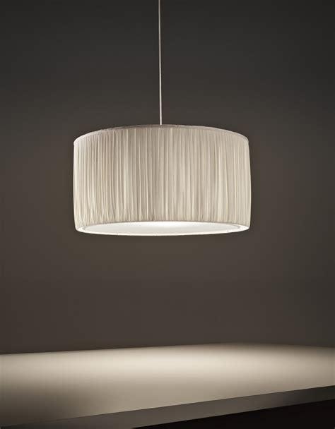 clm illuminazione lada a sospensione a led in tessuto pliss 200 by olev by