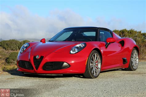 Romeo 4c by 2016 Alfa Romeo 4c Exterior 024 The About Cars