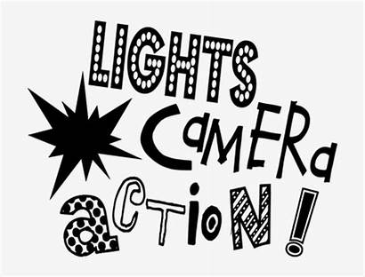 Word Camera Action Lights Clipart Words Pngkey