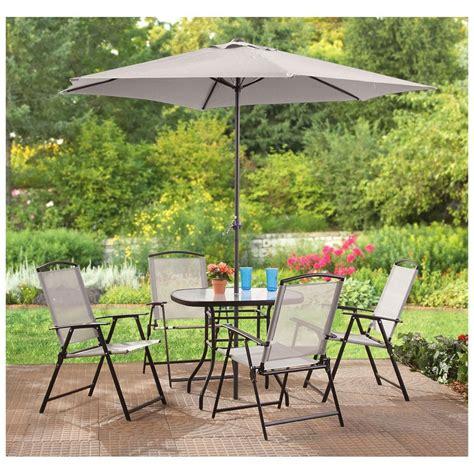patio set with umbrella outdoor dining sets with umbrella and photos cheap