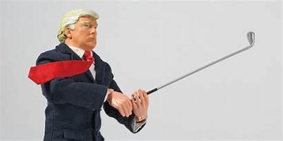Trump Golf Donald Action Figure Willrow Hood