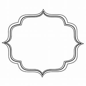 Curve clipart decorative bracket - Pencil and in color ...