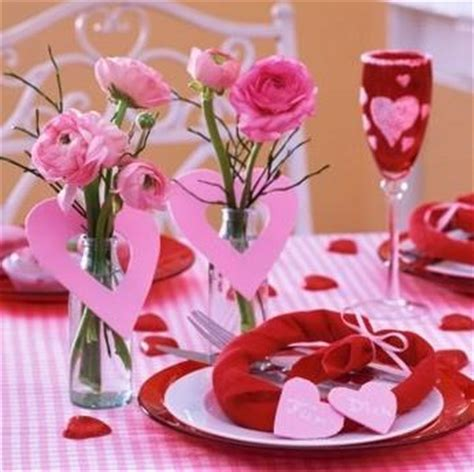 decoration pour la valentin d 233 coration de tables pour la valentin 7 d 233 co