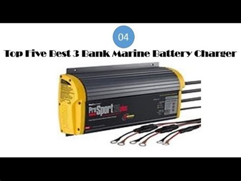 Marine Battery Charger Not Working by Top Five Best 3 Bank Marine Battery Charger