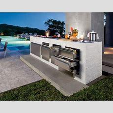 Modern Outdoor Kitchen Design For Minimalist House Home