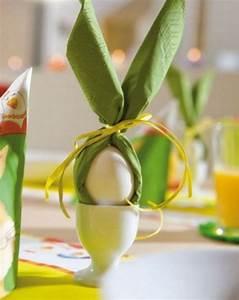 Servietten Falten Ostern Tischdeko : festliche tischdeko zu ostern typische ostersymbole auf den tisch bringen osterdeko ostern ~ Eleganceandgraceweddings.com Haus und Dekorationen