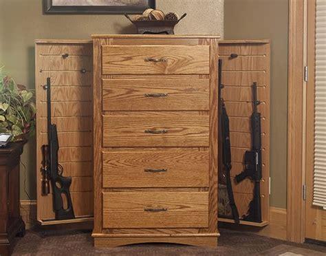 hidden gun cabinet furniture diy how to build hidden gun cabinet plans free