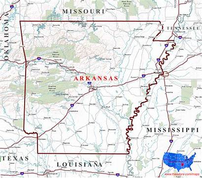 Arkansas Map State Maps States Geographical Geographic