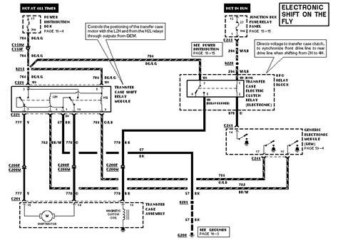 Dash Wiring Diagram F 150 by 1997 Ford F 150 4 Drive Wiring Diagrams Wiring Diagram