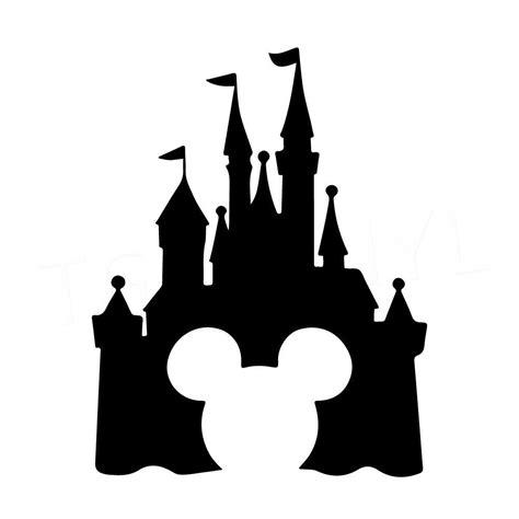 7 5 quot disney castle vinyl decal sticker car window laptop magic kingdom mickey ebay