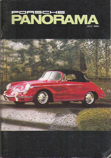 panorama porsche price oldmags com porsche panorama july 1986 product details