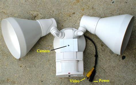 porch light hidden camera outdoor motion detector spot light with hidden covert