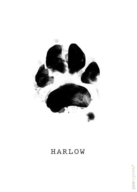 CUSTOM Pet Paw Print, Cat, Dog, Animal art, Digital file