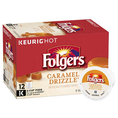 Folgers instant coffee comes in regular or decaf versions and as crystals and sticks. Caramel K-Cup Pods - Folgers Coffee