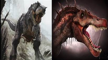 Spinosaurus Carnotaurus Rex Tribute Wallpapers Wallpaperplay