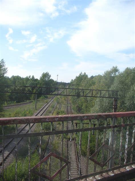 railway   bridge  death  pripyat chernob