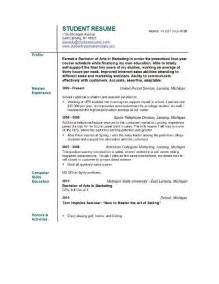 resume exles for objectives for students student resume objective pictures