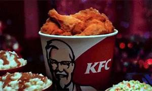 Fried Chicken GIF - Find & Share on GIPHY