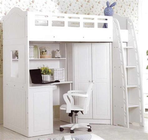 Bed In A Cupboard Australia by Best 25 Loft Bed Desk Ideas On Bunk Bed With