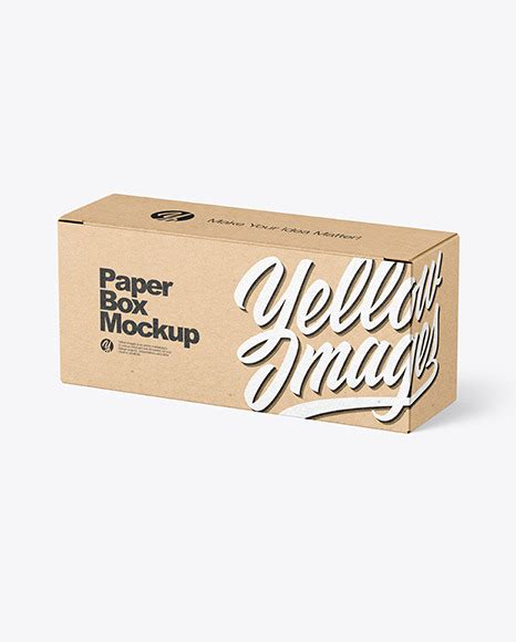 Get ready to see this amazing and very interesting collection of 62 only the best free psd boxes mockups for you and your ideas + premium version! Kraft Paper Box Mockup | Exclusive Mockups