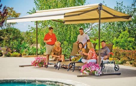 sunsetter oasisa freestanding awning