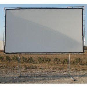 carls freestanding diy projector screen kit